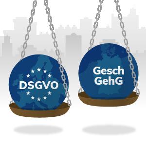 EU DS-GVO vs. GeschGehG