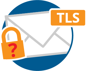 encrypting emails with TLS only works to a certain degree