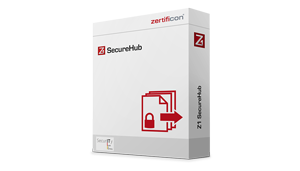 Z1 SecureHub Produktbox