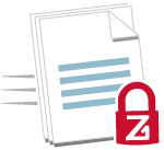 Secure large file transfer for businesses