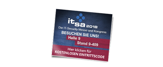 IT Security Messe it-sa 2018